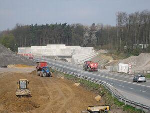 Baustofftransport mit Muldenkipper