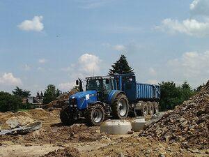 Boden transportieren mit 3achser