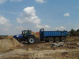 Boden transportieren