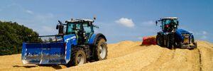 Mais walzen mit folgenden Maschinen